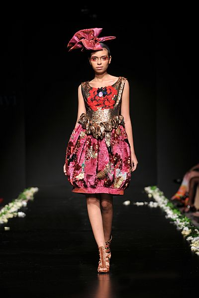 LDA 1 Lanre Da Silva Ajayi, Couture Fashion Week, Spring/Summer 2010