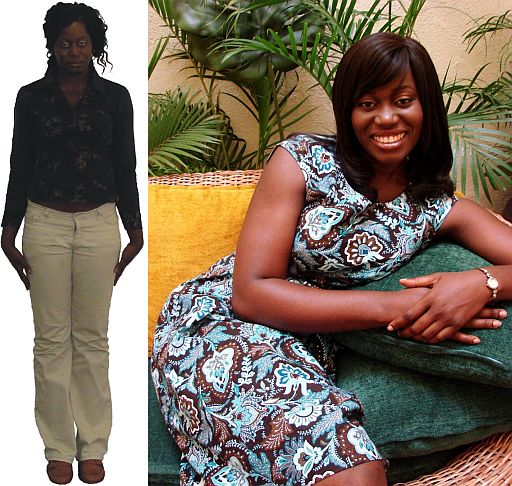 Alvina Style Me Show Season 2 Before After Style Me, Nigerias Stacy London & Clinton Kelly What Not to Wear Show