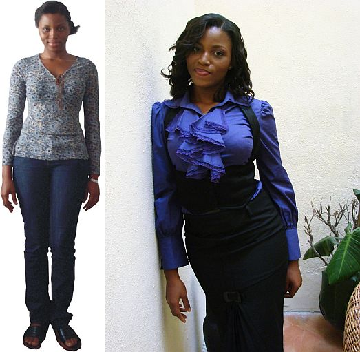 Jennifer Style Me Show Season 2 Before After Style Me, Nigerias Stacy London & Clinton Kelly What Not to Wear Show