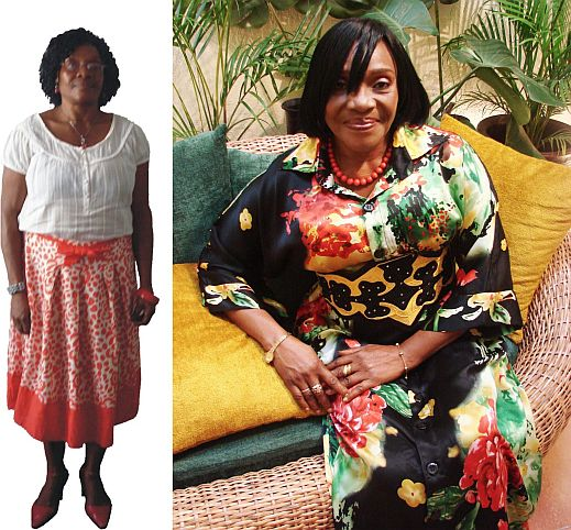 Olatunji Style Me Show Season 2 Before After Style Me, Nigerias Stacy London & Clinton Kelly What Not to Wear Show