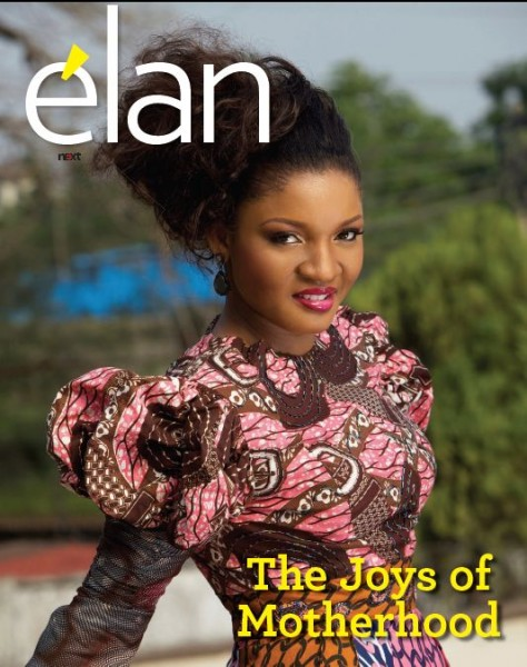 Omotola on Next 234 elan Omotola Jalade Ekeinde on Cover of élan Magazine Mothers Day Edition