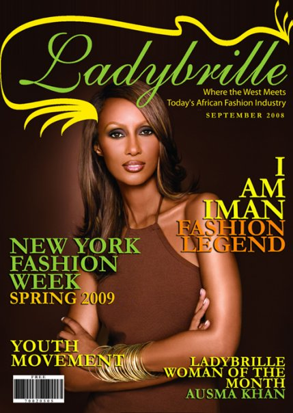 Iman Modeling: Making the Cover of a Magazine