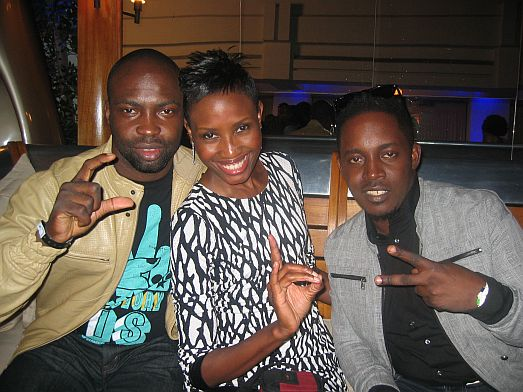 Audu Uduak MI MI & P Square at the 2010 BET Awards PRE SHOW (Pictures)