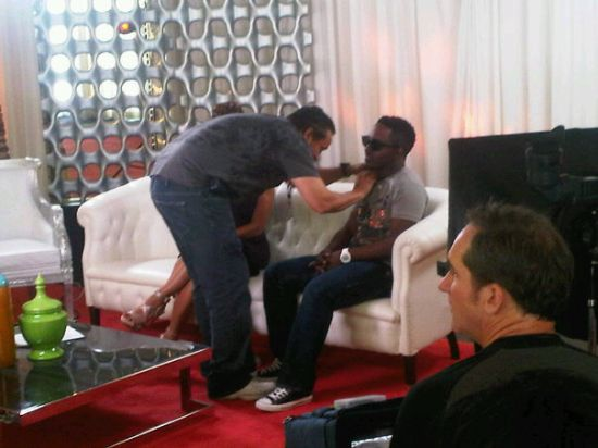 MI BET MI & P Square at the 2010 BET Awards PRE SHOW (Pictures)