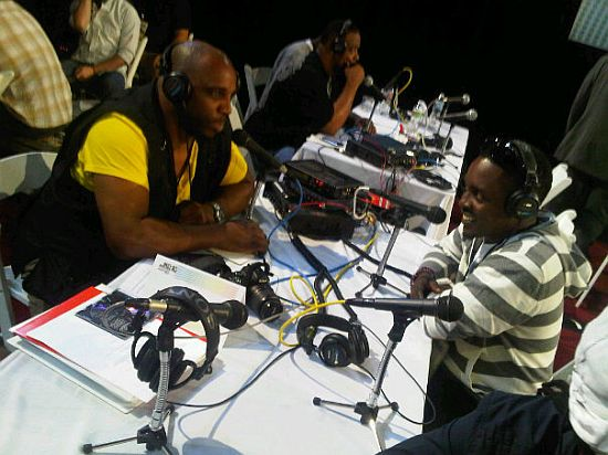 MI Interviews with ZA Radio MI & P Square at the 2010 BET Awards PRE SHOW (Pictures)