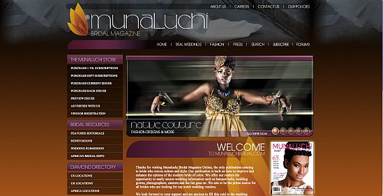 Munaluchi MUNALUCHIbridal.com is all Grown and Sexy!