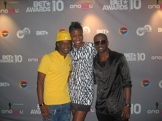 P2 Uduak MI & P Square at the 2010 BET Awards PRE SHOW (Pictures)
