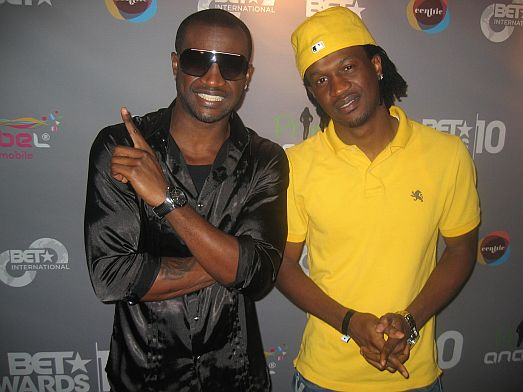 P2 MI & P Square at the 2010 BET Awards PRE SHOW (Pictures)