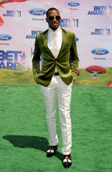BET Awards DBanj DBanj aka African Michael Jackson Glides onto BET Awards Red Carpet 2011 with that Naija Swag