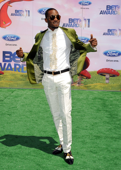 BET Red Carpet DBanj DBanj aka African Michael Jackson Glides onto BET Awards Red Carpet 2011 with that Naija Swag