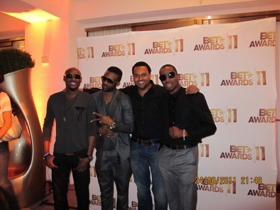 BEt Awards BET Awards 2011 Photos: TuFace, DBanj, Fally Ipupa, Tiwa Savage, The Game