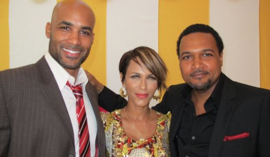 Boris Kodjoe Nicole Ari Parker Cecil Hammond BET Awards 2011 Photos: TuFace, DBanj, Fally Ipupa, Tiwa Savage, The Game