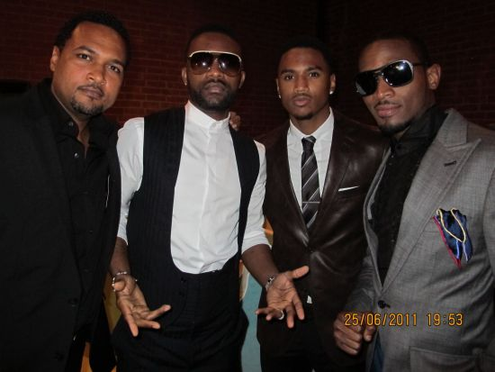 Cecil Fally D Banj TuFace BET Awards 2011 Photos: TuFace, DBanj, Fally Ipupa, Tiwa Savage, The Game