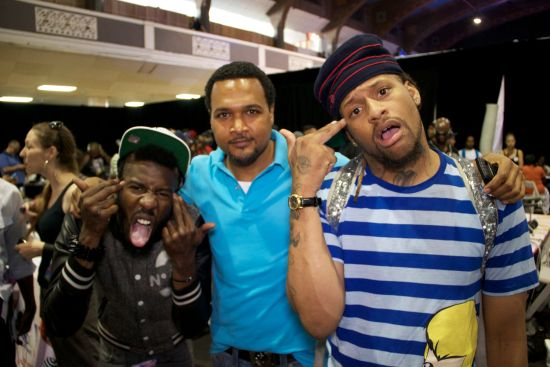 Cecil Hammon and Rejectz BET Awards 2011 Photos: TuFace, DBanj, Fally Ipupa, Tiwa Savage, The Game