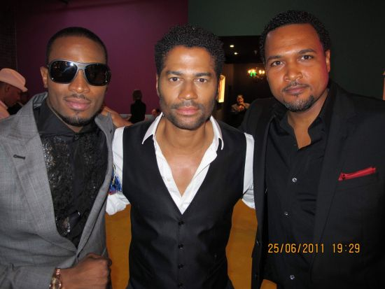 D Banj Eric Benet Cecil Hammond BET Awards 2011 Photos: TuFace, DBanj, Fally Ipupa, Tiwa Savage, The Game