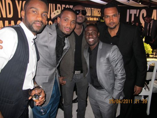 Fally Ipupa DBanj BET Awards 2011 Photos: TuFace, DBanj, Fally Ipupa, Tiwa Savage, The Game