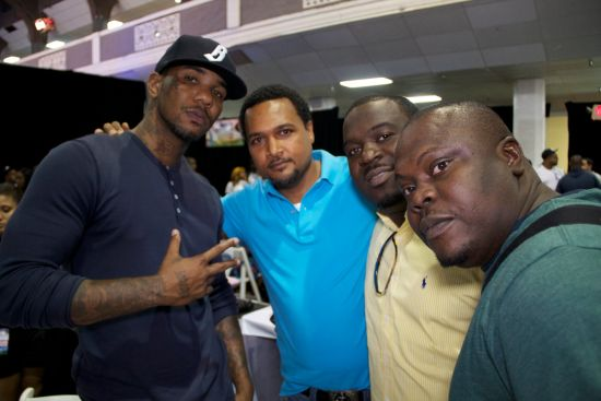 The Game Cecil Hammond and Crew BET Awards 2011 Photos: TuFace, DBanj, Fally Ipupa, Tiwa Savage, The Game