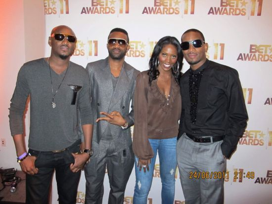 Tiwa Savage D Banj BET Awards 2011 Photos: TuFace, DBanj, Fally Ipupa, Tiwa Savage, The Game