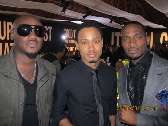 TuFace Terrence J DBanj1 BET Awards 2011 Photos: TuFace, DBanj, Fally Ipupa, Tiwa Savage, The Game