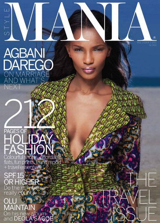 Agbani Darego for Mania Magazine1 Agbani Darego for Mania Magazine Travel Issue + Olu Maintain, Nnena Agba, Ojy Okpe, Yvonne Ekwere