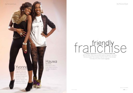 Mania Magazine 3 Agbani Darego for Mania Magazine Travel Issue + Olu Maintain, Nnena Agba, Ojy Okpe, Yvonne Ekwere