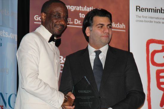 Sanusi A Sanusi Wins Sub Saharan Africa Central Bank Governor of the Year  Again