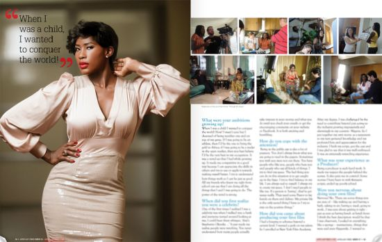 Stephanie Okereke African Vibes Magazine 4 Stephanie Okereke Covers African Vibes Magazine USA, Talks Divorce, Accident and New Beginnings