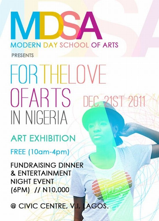 For the Love of Arts in Nigeria Dec 21st 2011