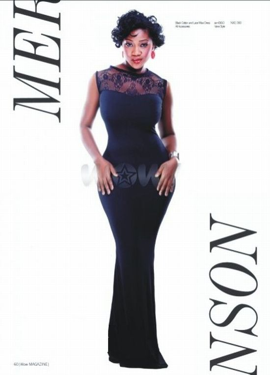 Mercy Johnson WOW Magazine 2 WOW! Mercy Johnson Brings DANGEROUS CURVES Back in WOW! Magazine December Issue