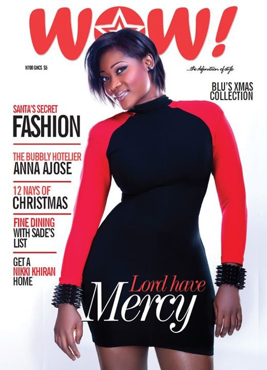 Mercy Johnson WOW Magazine WOW! Mercy Johnson Brings DANGEROUS CURVES Back in WOW! Magazine December Issue