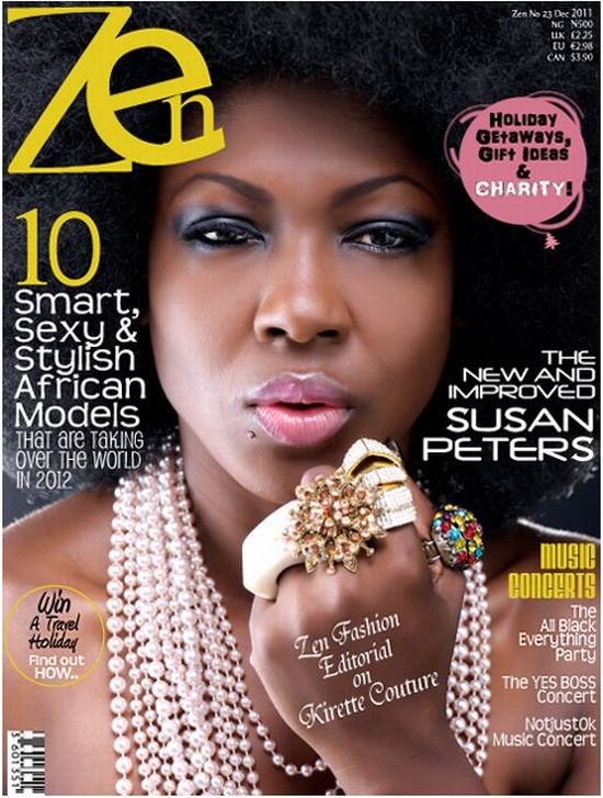 Susan Peters Covers Zen Magazine