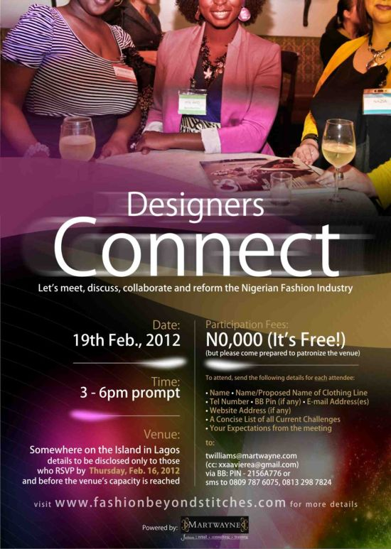 Designers Connect - 19 Feb 2012