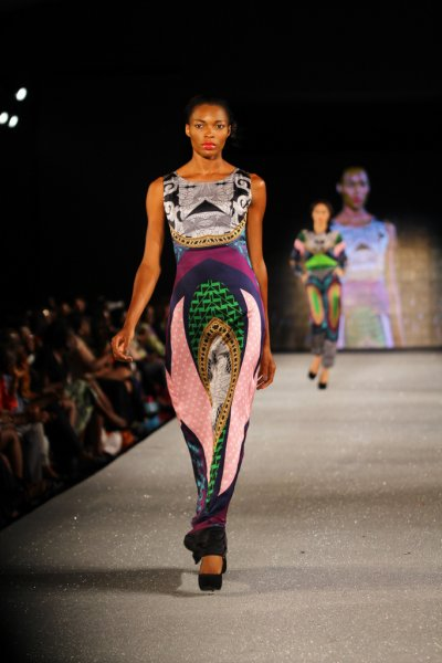 Arise Magazine Fashion Week Lagos 2012 Lanre Da Silva Ajayi 1 Lanre Da Silva Ajayi Best Looks  Arise Magazine Fashion Week Lagos 2012   #AMFW #NigerianFashion