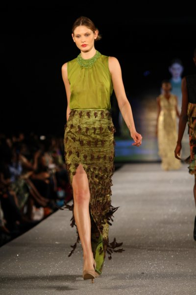 Arise Magazine Fashion Week Lagos 2012 Lanre Da Silva Ajayi 3 Lanre Da Silva Ajayi Best Looks  Arise Magazine Fashion Week Lagos 2012   #AMFW #NigerianFashion