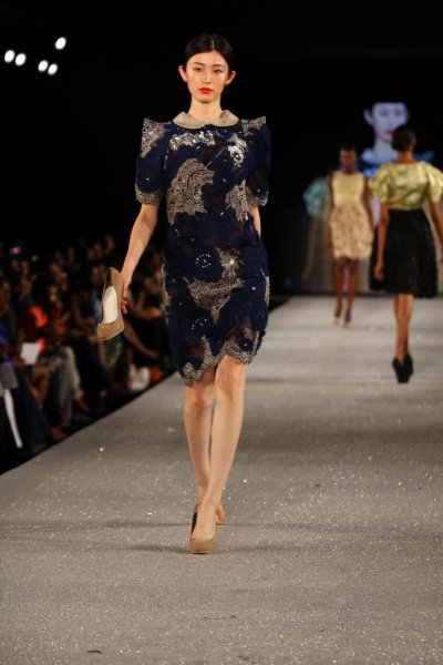 Arise Magazine Fashion Week Lagos 2012 Lanre Da Silva Ajayi 5 Lanre Da Silva Ajayi Best Looks  Arise Magazine Fashion Week Lagos 2012   #AMFW #NigerianFashion
