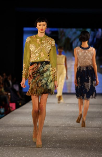 Arise Magazine Fashion Week Lagos 2012 Lanre Da Silva Ajayi 7 Lanre Da Silva Ajayi Best Looks  Arise Magazine Fashion Week Lagos 2012   #AMFW #NigerianFashion