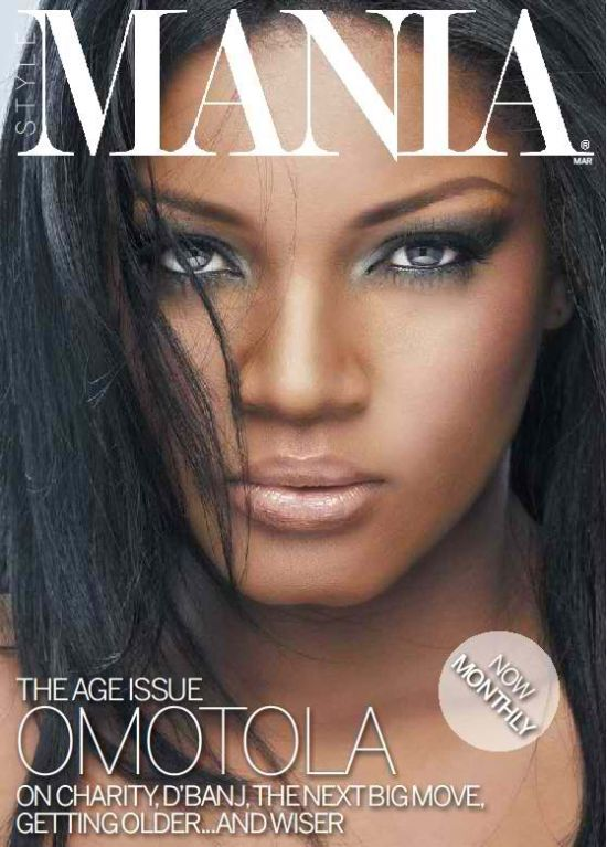 Omotola for Mania Magazine
