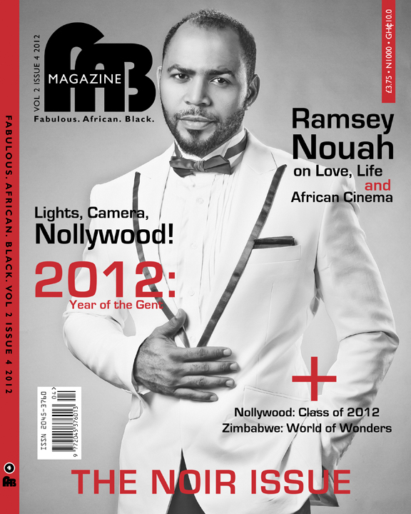 Ramsey Nouah Fab Magazine Nollywood: Ramsey Nouah & Rita Dominic Cover FAB Magazine The Noir Issue