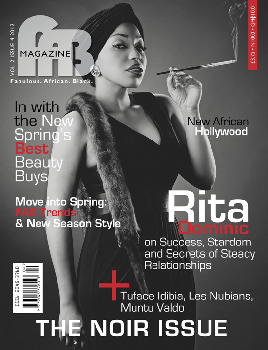Rita Dominic Fab Magazine Nollywood: Ramsey Nouah & Rita Dominic Cover FAB Magazine The Noir Issue