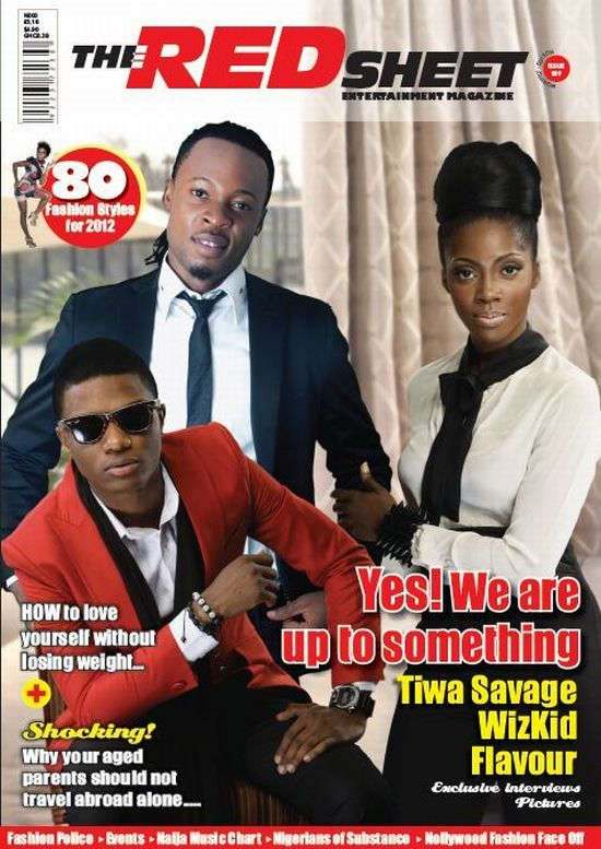 Tiwa Savage Red Sheet Magazine 4 Tiwa Savage Cool, Sexy, Chic on Red Sheet Magazine Cover