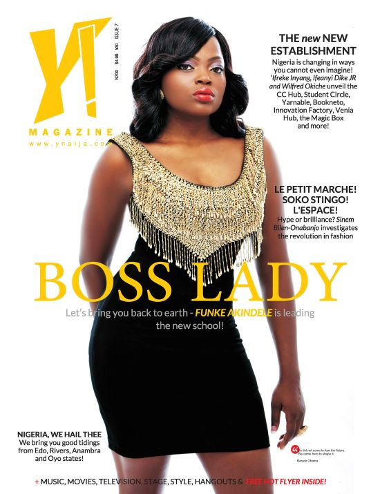 Y! magazine Issue 7 Funke Akindele