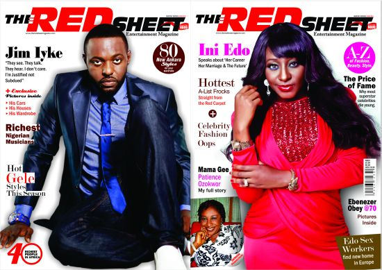 The Red Sheet Entertainment Magazine