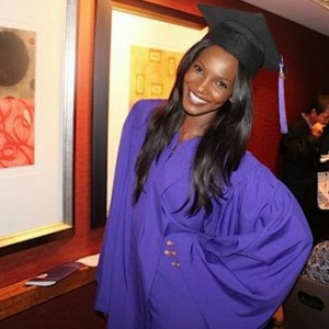 Agbani Darego graduates from NYU with Psychology Degree