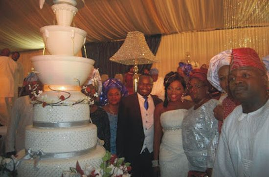 Funke Akindele Weds 2 Celebrity Weddings: (Pictures) Funke Akindele Weds!