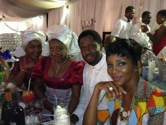 Funke Akindele Weds 3 Celebrity Weddings: (Pictures) Funke Akindele Weds!