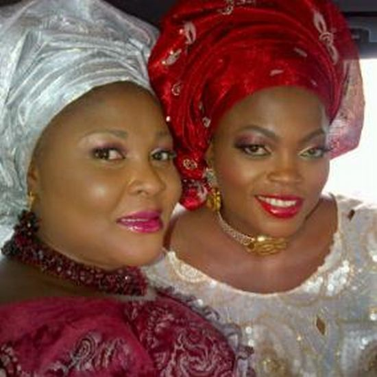 Funke Akindele Weds 4b Celebrity Weddings: (Pictures) Funke Akindele Weds!