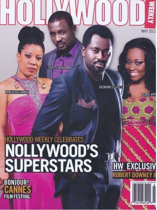 Hollywood Weekly Celebrates Nollywood's Superstars Thanks to Egor Efiok