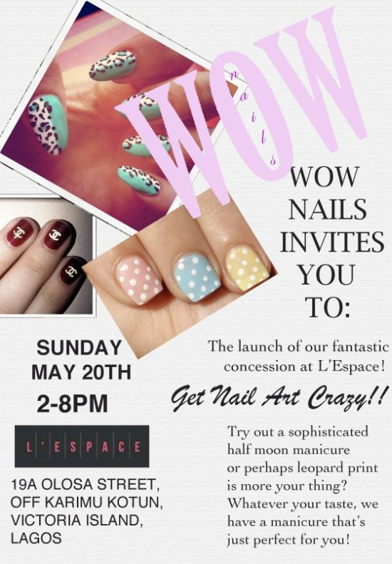 L'Espace WOW Nails Launch