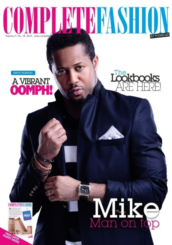 Mike E on Complete Fashion Magazine