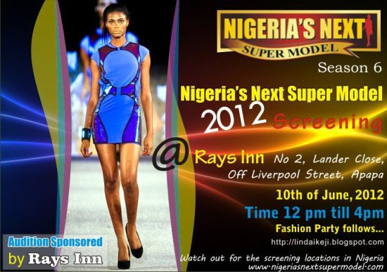 Nigeria's Next Supermodel 2012